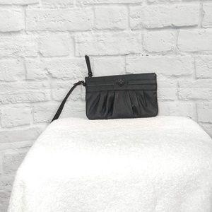 Simply Vera by Vera Wang | Black Satin Wristlet